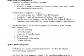001 Global Warming Essay Example 007014108 1 Unusual Hook Conclusion Outline 320