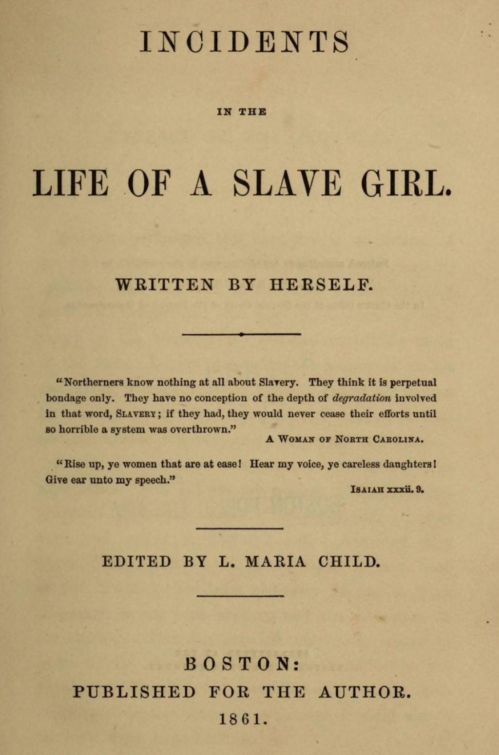 001 Harriet Jacobs Essay Example Black History Remarkable Vs Frederick Douglass Topics Analysis Large