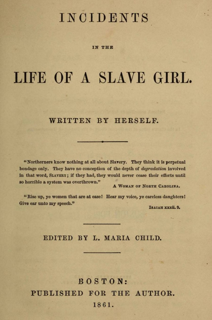 001 Harriet Jacobs Essay Example Black History Remarkable Analysis Topics