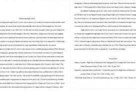 001 High School Graduation Essay Example High20school Rare Day Ceremony