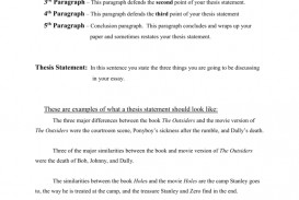 001 Holes Essay Conclusion Example 007877354 2 Breathtaking Black