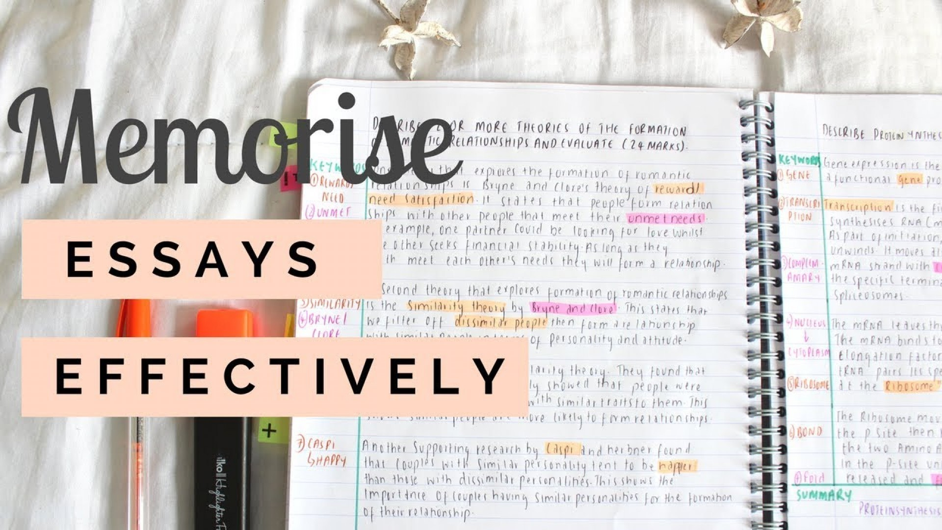 001 How To Memorise An Essay In Hour Maxresdefault Unbelievable A Few Hours Remember 1 1920