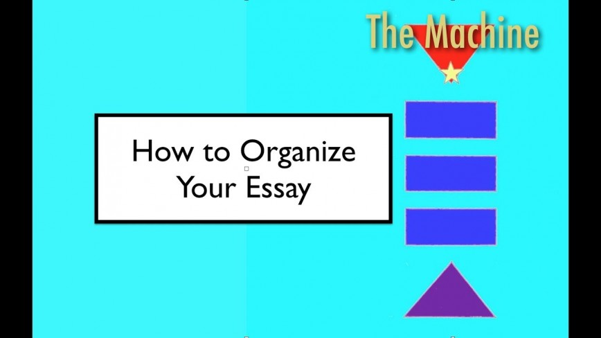 001 How To Organize An Essay Example Shocking Expository