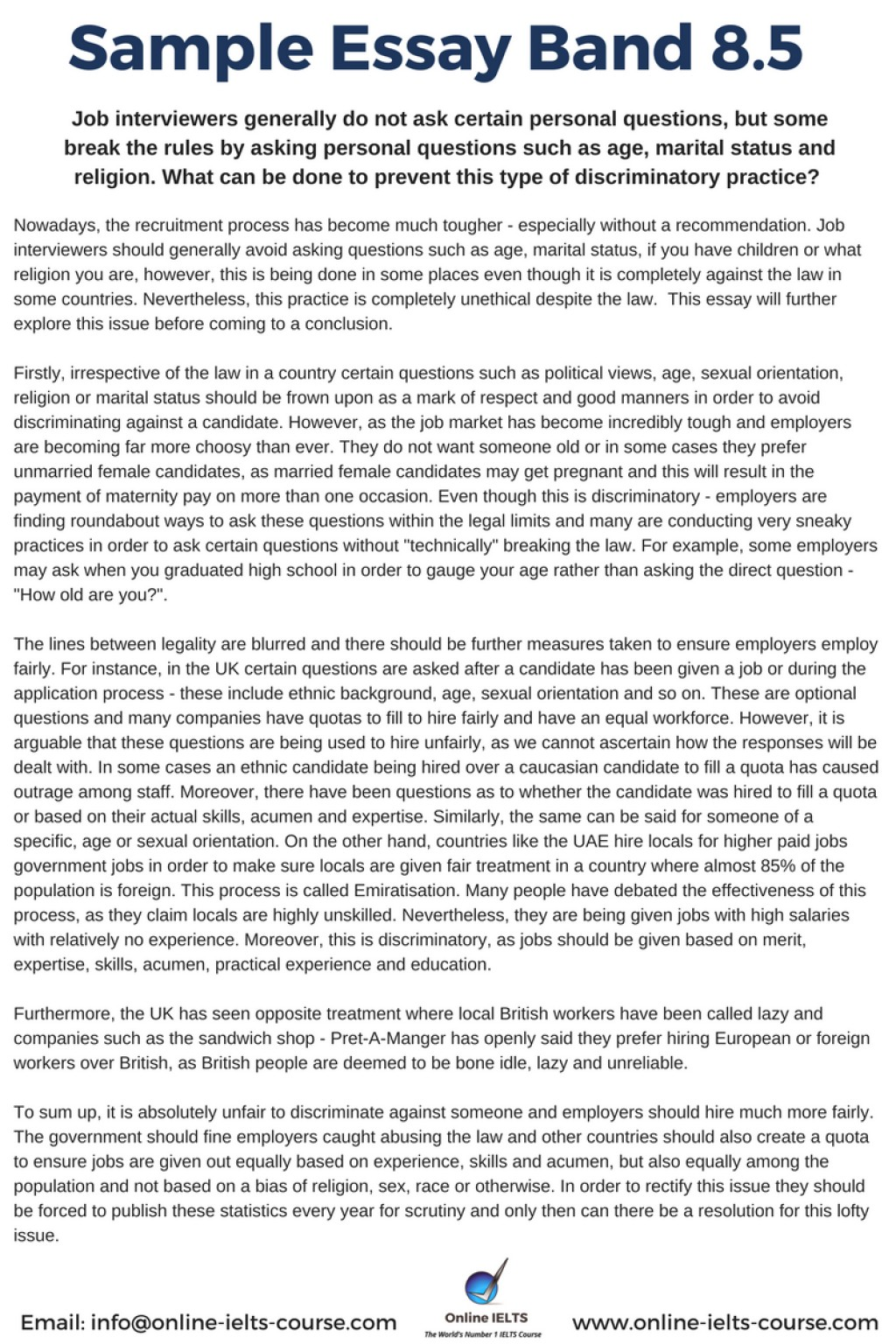 Money and education essay