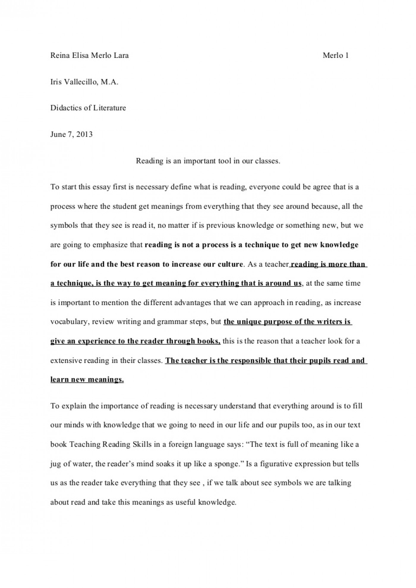 best english essays