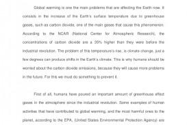 001 Is Globallimatehange Man Made Essay Study Percent Agreement Argumentative On Oyarce Esuessayclimatechangedemandshumanchange Lva1 App6892 Th Example Wonderful Climate Change