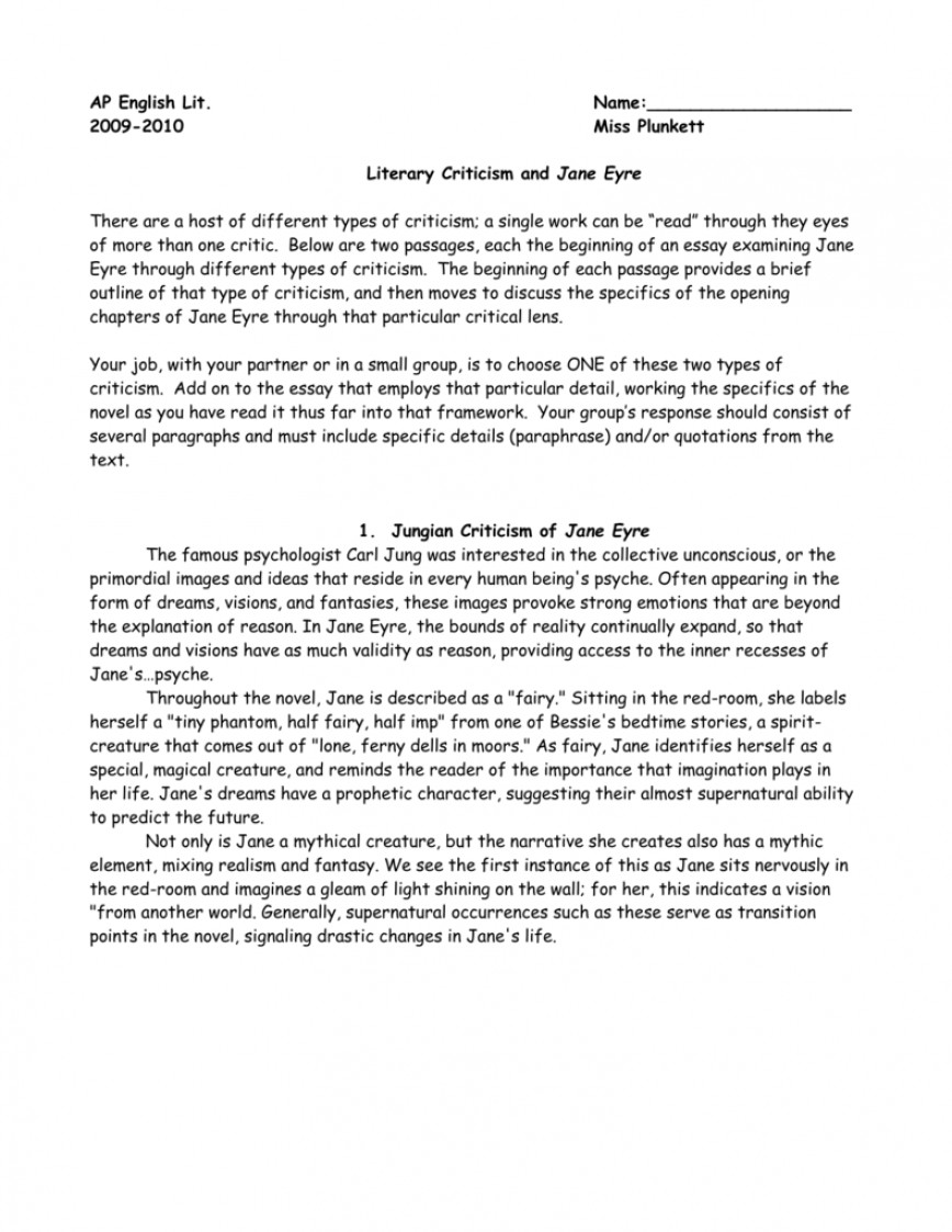 001 Jane Eyre Essay Amazing Topic Ideas Questions Answers