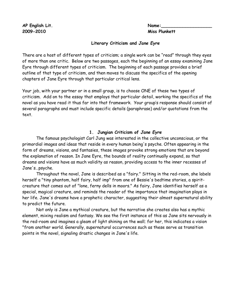 001 Jane Eyre Essay Amazing Possible Questions Topic Ideas Full