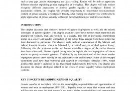001 Largepreview Essay Example Gender Equality In The Wondrous Workplace Examples Of Inequality Argumentative Outline