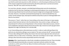 001 Linearnonlinearessay Thumbnail Essay Example Day Without Outstanding A Tv