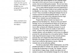 Love definition essays