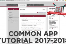 001 Maxresdefault Common App Essay Astounding 2017 18 2017-18 Questions 17-18