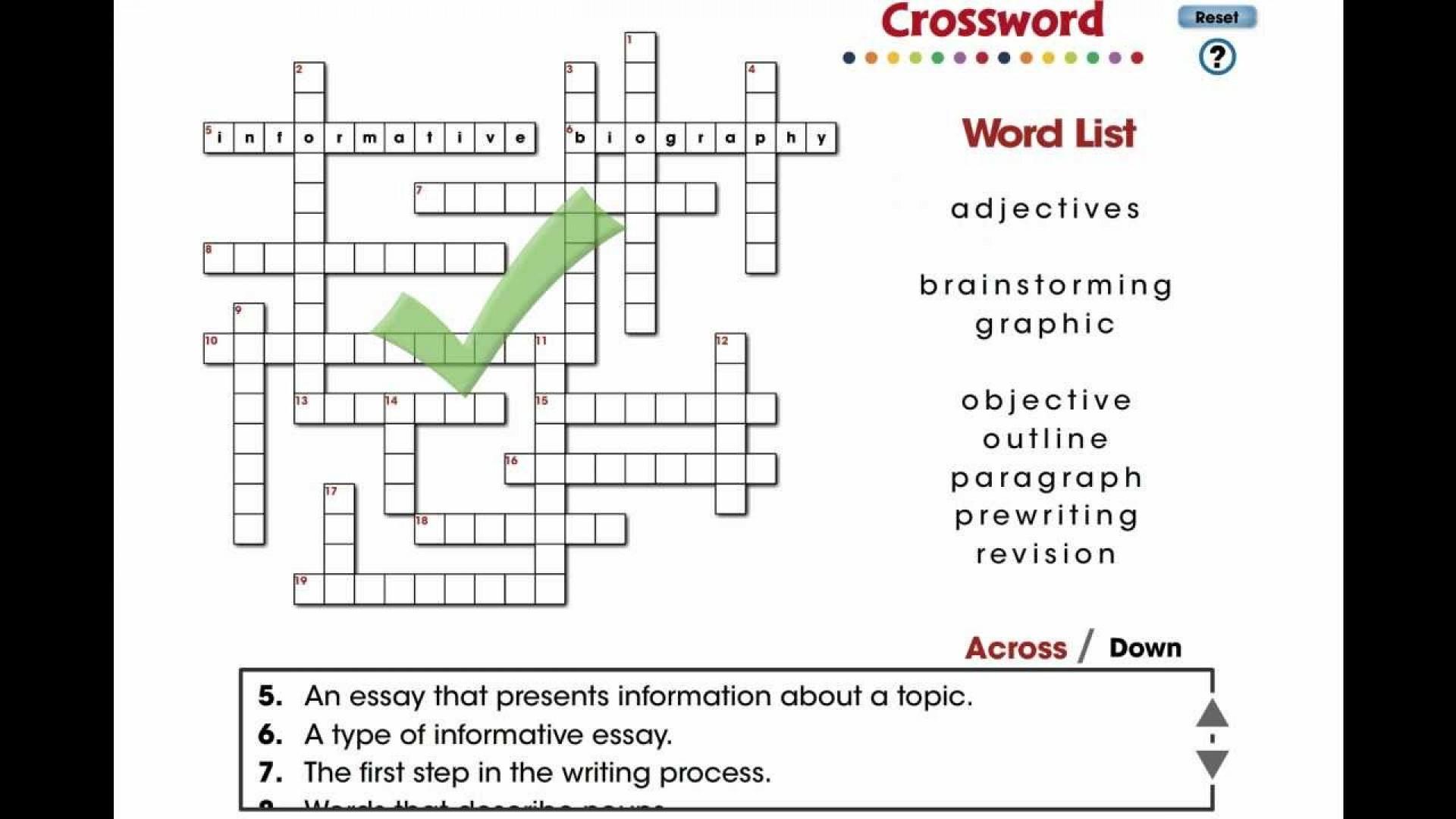 001 Maxresdefault Essay Crossword Fascinating Byline Clue Short Puzzle Persuasive 1920