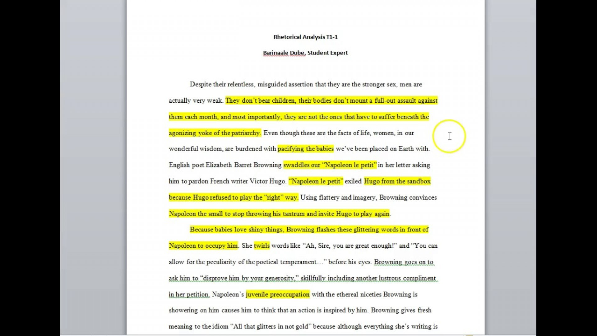 001 Maxresdefault Essay Example Rhetorical Striking Essays Topics Strategies Examples College Question 1920