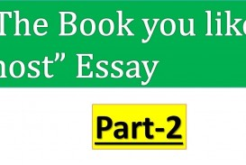 001 Maxresdefault Essay On The Book You Like Most Awful Short