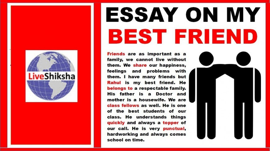 001 Maxresdefault My Best Friend Essay Marvelous In Hindi English 100 Words For Class 8 Urdu