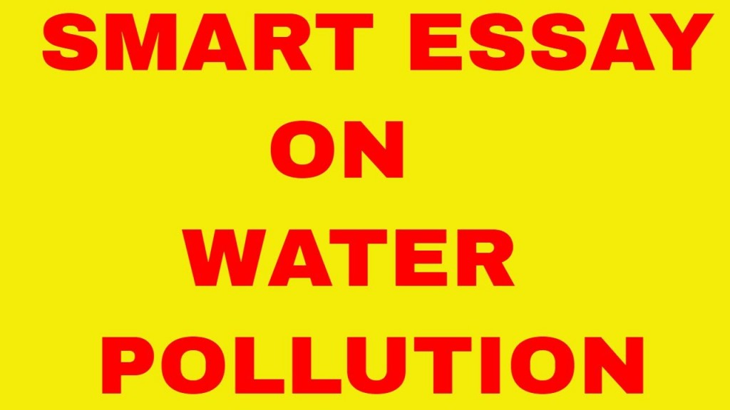 001 Maxresdefault Water Pollution Essay Incredible In Hindi Pdf Download Odia Kannada Large