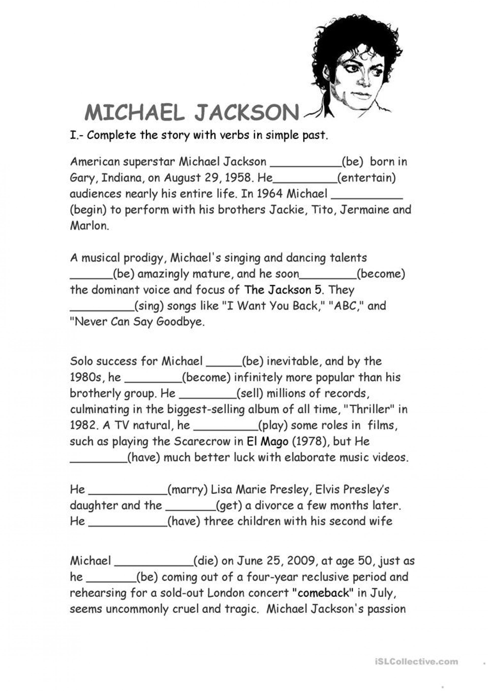 Is A Research Paper An Essay  Science Essay Ideas also Example Of A College Essay Paper  Michaelbjacksonbinspirationalbquotes Jpg Essay  How To Make A Good Thesis Statement For An Essay