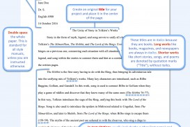 001 Mla Format Essay Example Model Paper Rare Style Pdf