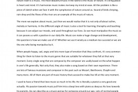 001 Musicopenhandedessay Phpapp02 Thumbnail Essay Example On Marvelous Music Musical Instruments Importance Of Culture And