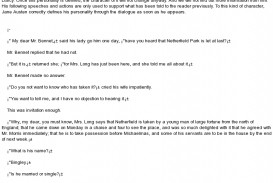 001 Narrative Essay With Dialogue Example Mla Format How Technique Of Jane Austen Paper Awful Dialog Examples Sample