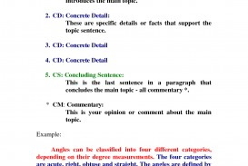 001 One Paragraph Essay Topics Magnificent