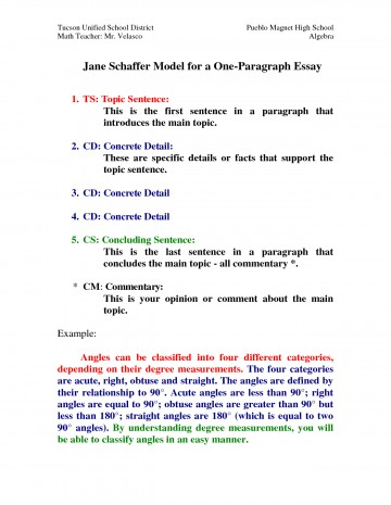 001 One Paragraph Essay Topics Magnificent 360