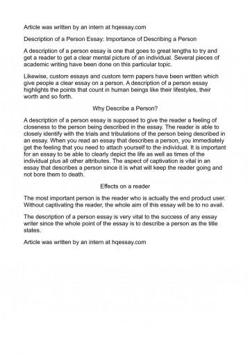001 P1 Describe Person Essay Remarkable A Strange Successful You Admire Spm 360