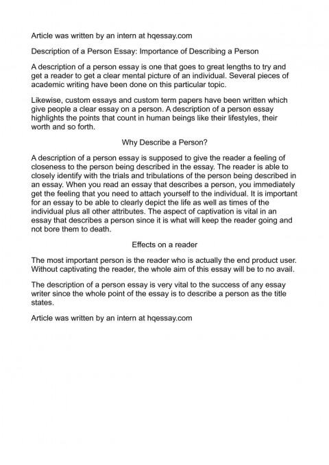 001 P1 Describe Person Essay Remarkable A Strange Successful You Admire Spm 480