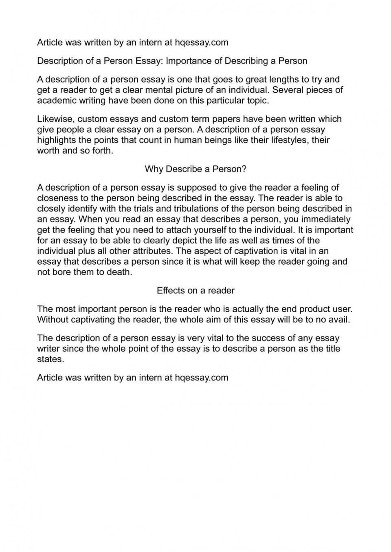 001 P1 Describe Person Essay Remarkable A Strange Successful You Admire Spm 960