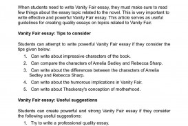 001 P1 Essay Example On Stupendous Vanity Montaigne's Fair 320