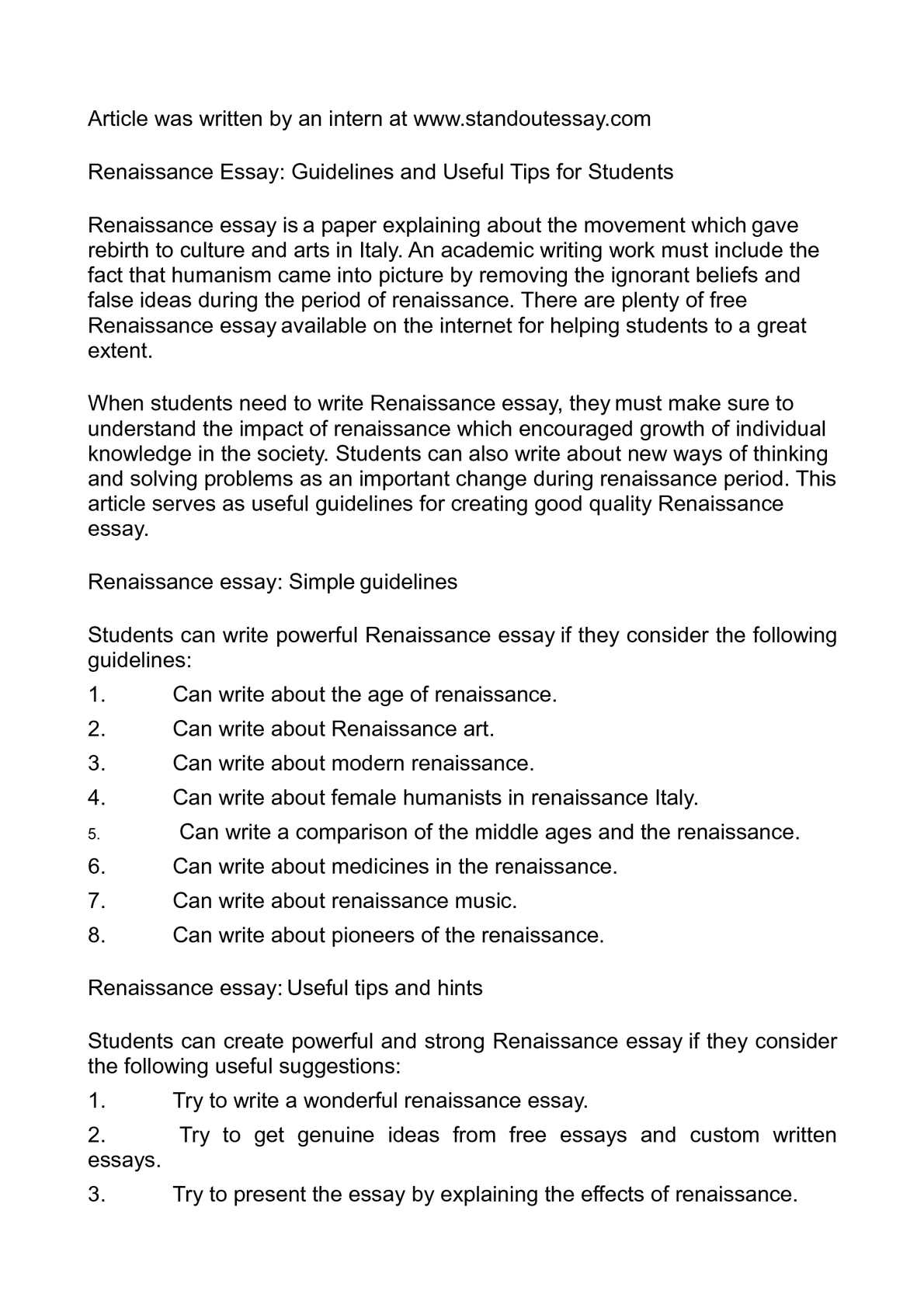 001 P1 Renaissance Essay Surprising Harlem Introduction Sample Pdf Full