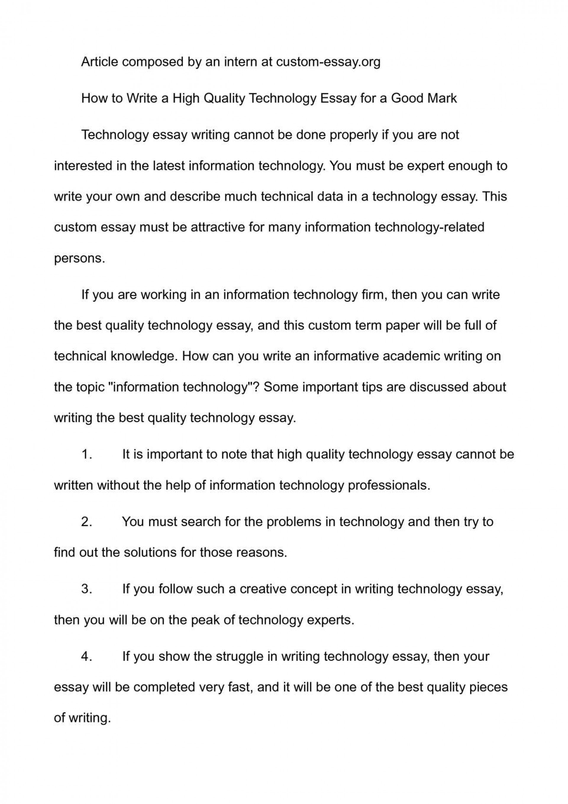 001 P1 Technology Essay Top And Education Titles Digital Introduction Examples 1920