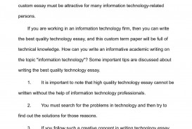 001 P1 Technology Essay Top Science And Questions Florida Institute Of Prompts