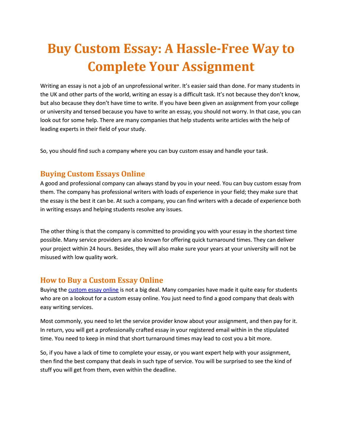 001 Page 1 Buy Custom Essays Online Essay Impressive Full