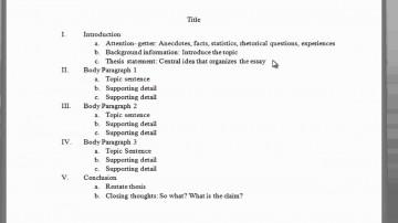 001 Paragraph Essay Outline Example Impressive 5 Five Template Pdf Argumentative 360