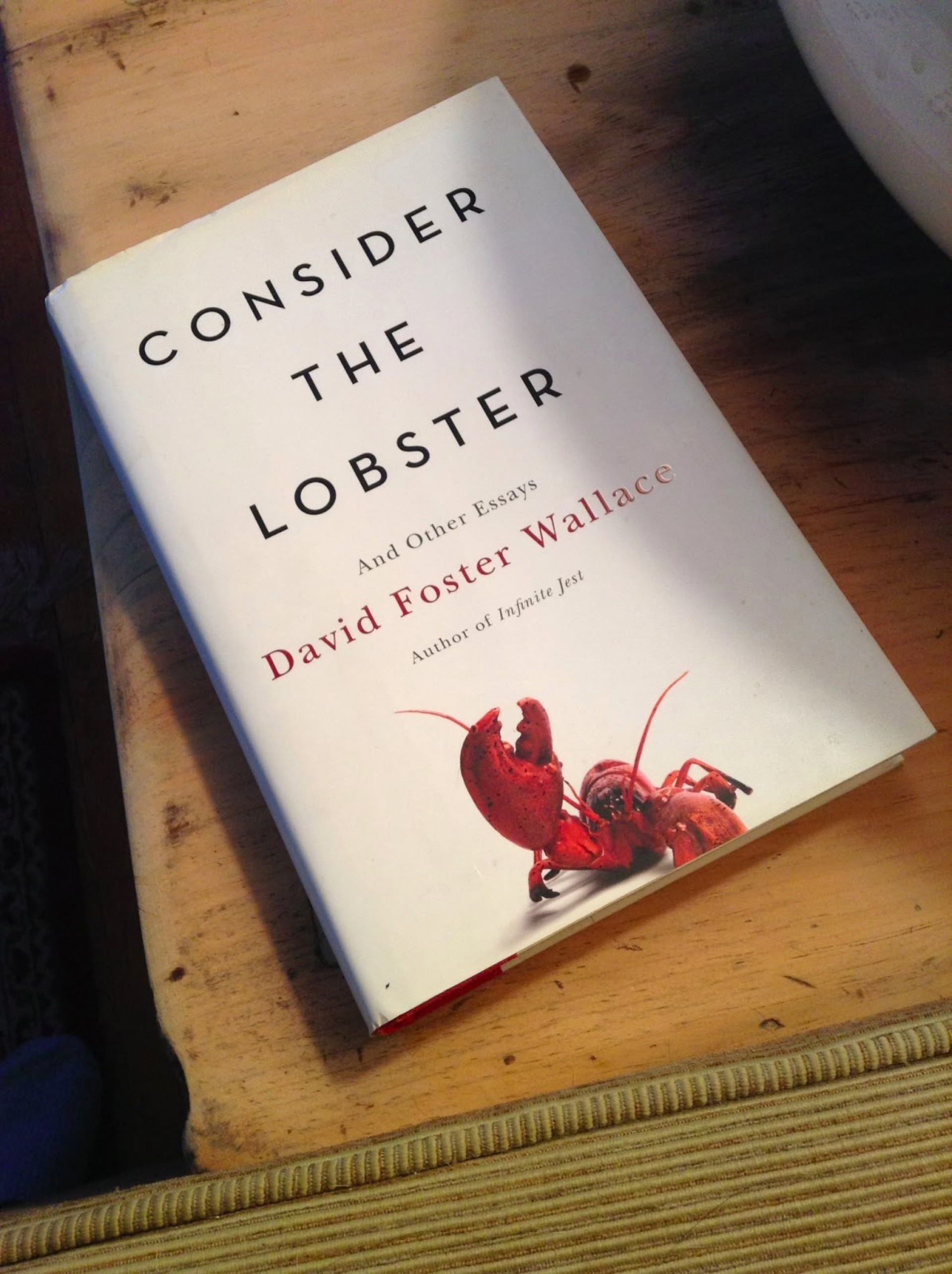 001 Photo Consider The Lobster Essay Exceptional Rhetorical Analysis And Other Essays Summary 1920