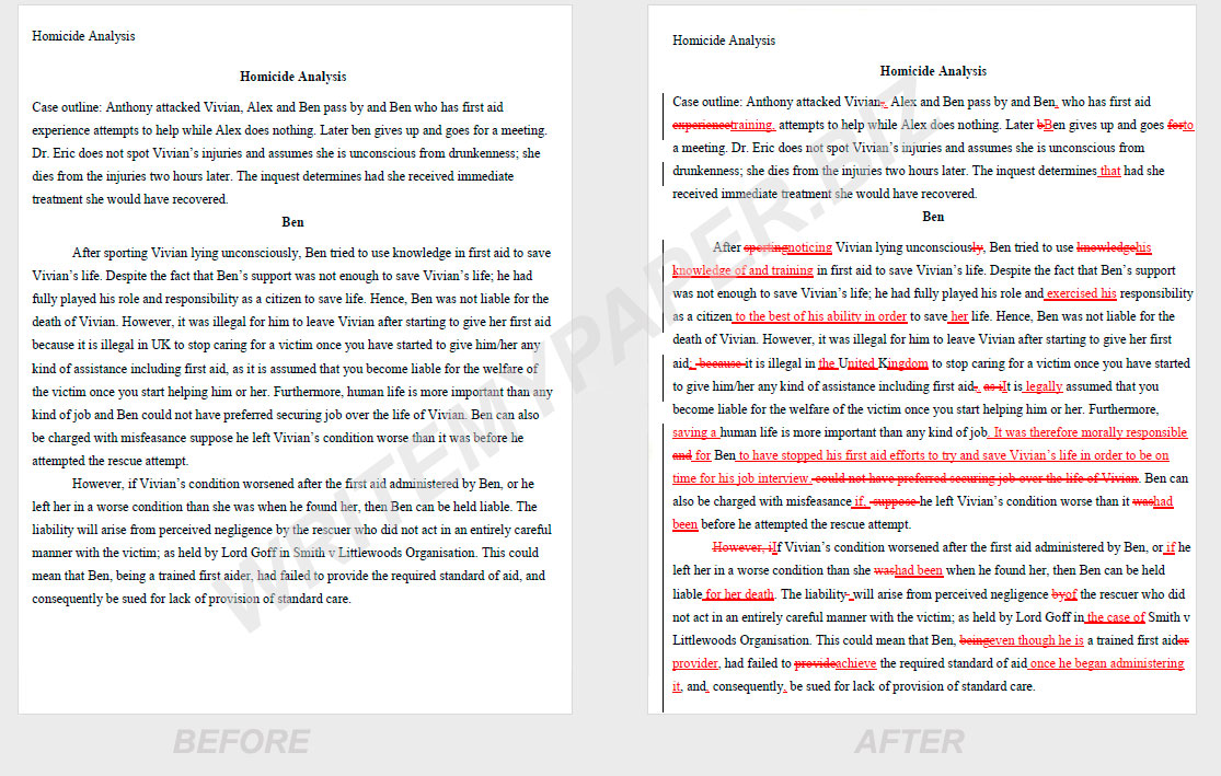 001 Proofread Essay Before After Unique Proofreading Service Website University Full