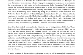 001 Rabbit Proof Fence Film Review Essay Largepreview Top 320