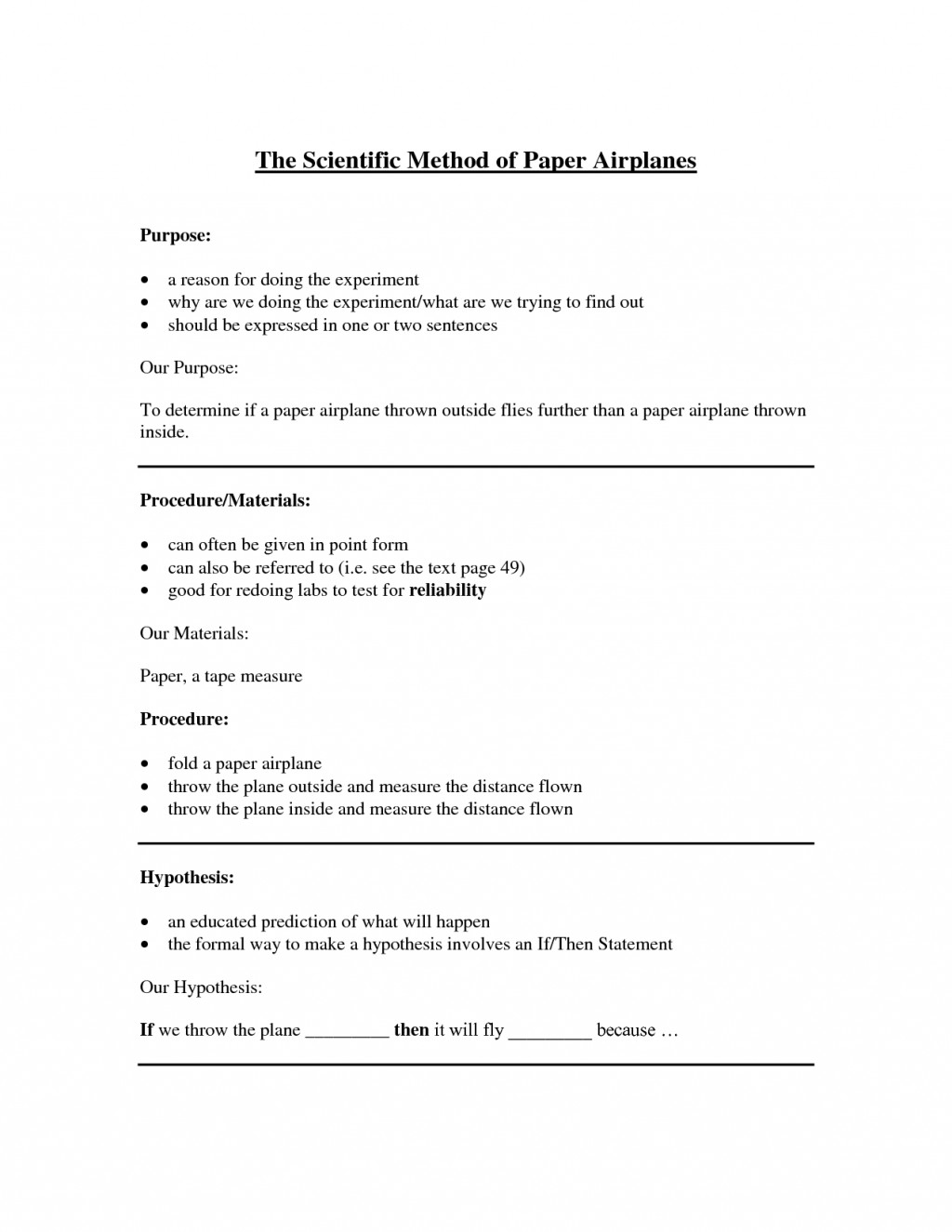 001 Scientific Method Essay Example Dreaded Paper Outline Examples Questions Large