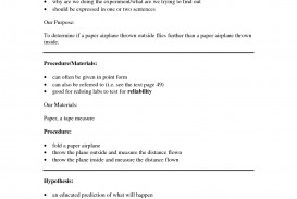 001 Scientific Method Essay Example Dreaded Paper Outline Examples Questions