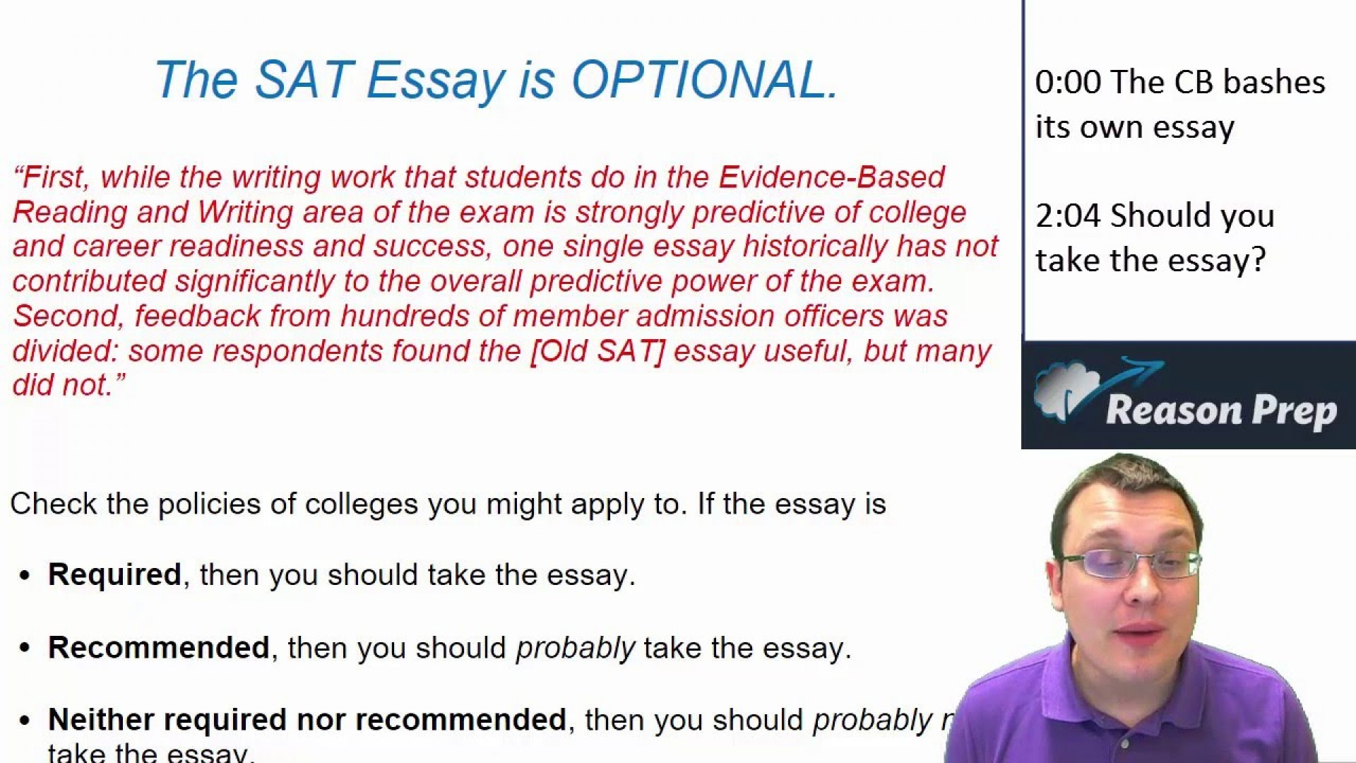 001 Should I Take The Sat Essay Maxresdefault Surprising Reddit U 1920
