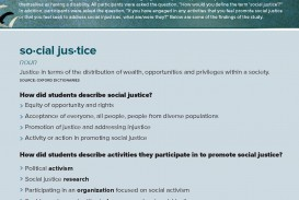 001 Social Justice Infographic Essay Singular Prompts Pdf