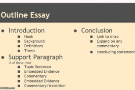 001 Synthesis Essay Outline Example Stupendous Sample Of Argumentative