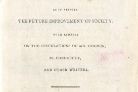 001 Thomas Malthus An Essay On The Principle Of Population Marvelous Summary Analysis Argued In His (1798) That