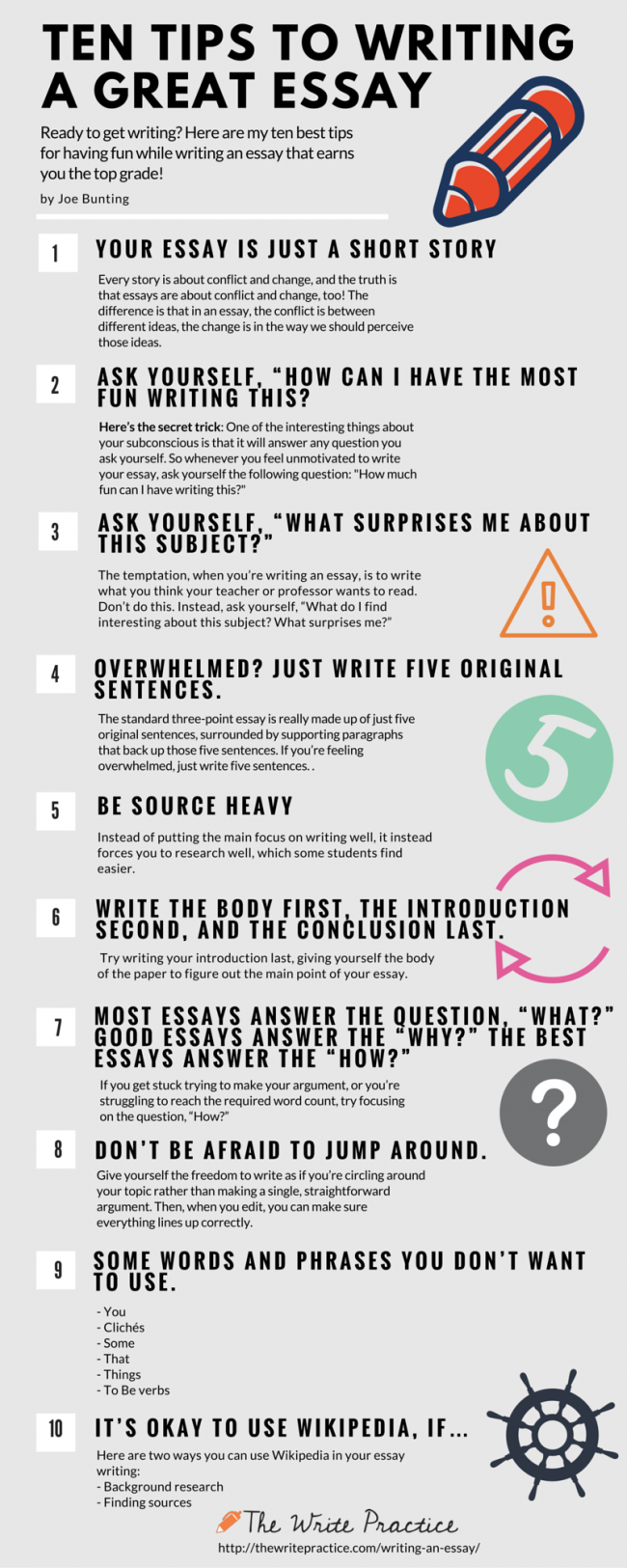 001 Tips For Writing An Essay1 650x1625 On Essay Striking Introduction About Yourself Essays Faster Full