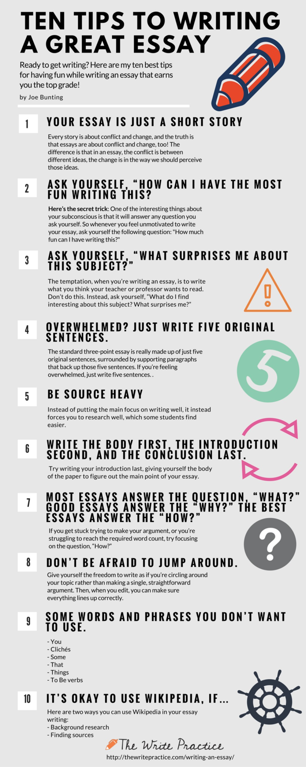 001 Tips For Writing An Essay1 Essay Example How To Shocking Write About Myself A Scholarship Excellent Conclusion Pdf Large