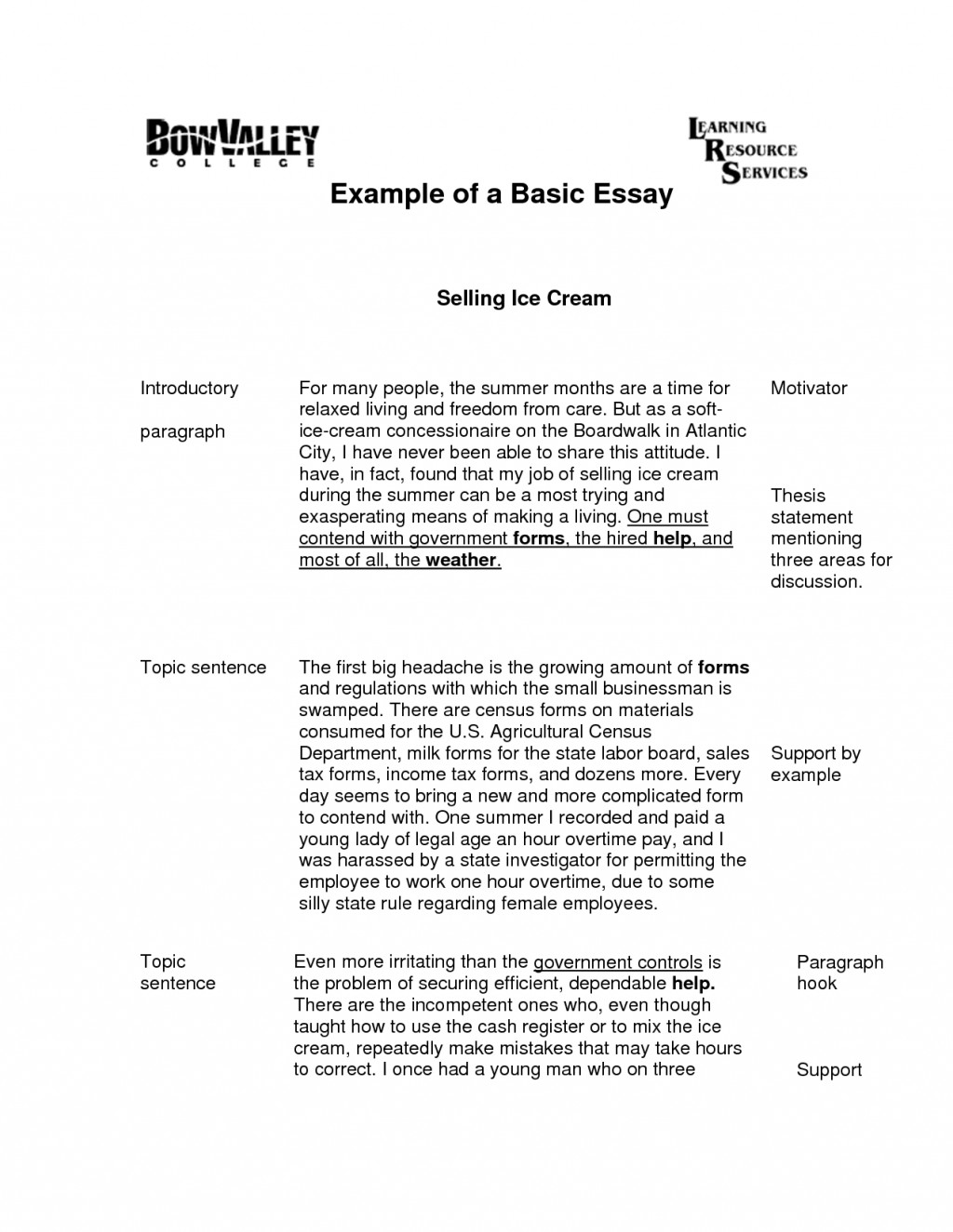 001 Types English Essays Essay Basics Presure With Of An L Example The Stunning Writing Art Pdf Nigel Warburton Large