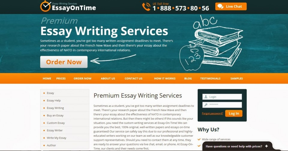 001 Untitled Essay Example Writing Amazing Website Template Websites Reviews Free 960