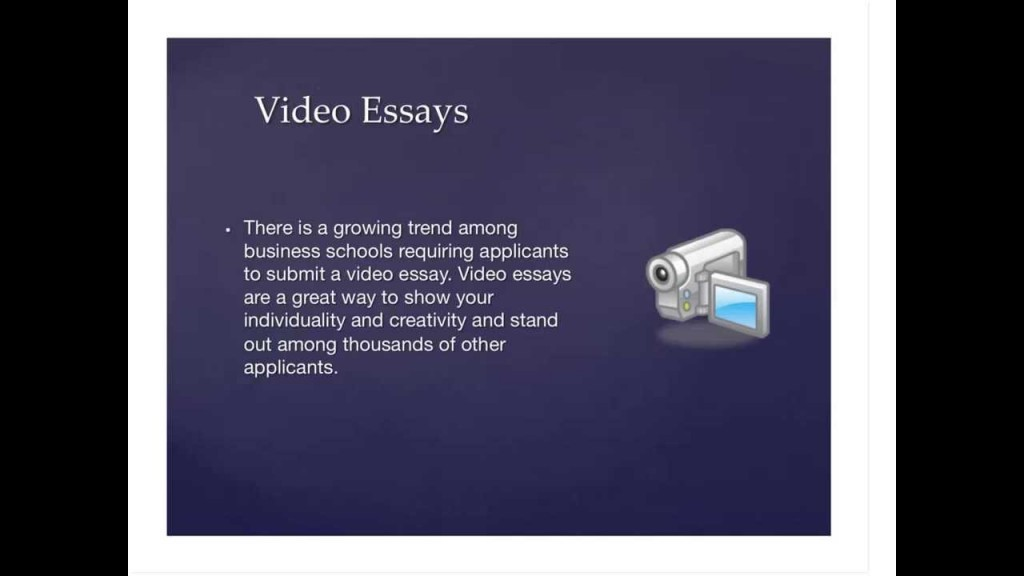 001 Video Essay Example Marvelous Definition Ideas College Examples Large